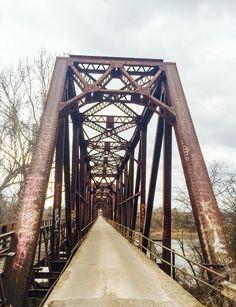 Carpenters Bluff bridge- Denison Texas Denison Texas, Loving Texas, Texas Homes, George Washington Bridge, Brooklyn Bridge, God, Eyes, Travel, Beauty