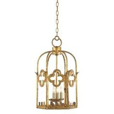 Check out the Visual Comfort SR5005GI Studio John Rosselli 3 Light Baltic Lantern in Gilded Iron priced at $629.90 at Homeclick.com.