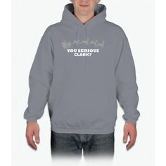 You Serious Clark? Funny Christmas Movie Reference Bee Movie Hoodie