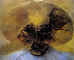 Amazing Art of Zdzislaw Beksinski Surreal Artwork, Arte Horror, Art Database, Artistic Photography, Art Reproductions, Dark Art, Les Oeuvres, Painting & Drawing, Amazing Art