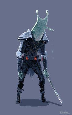 Autonomous Space Suit + Space Warriors Pixel Artist: Oncle Gab Source: onclegab.tumblr.com