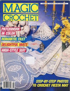 Magic Crochet Magazine August 1989 issue 61 by susanbeingsnippy