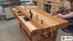 Adding A Tool Well To A Workbench