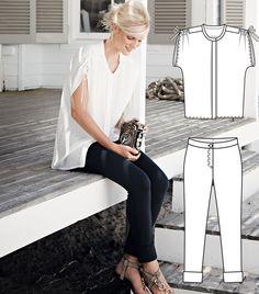 Indigo Summer: 11 New Patterns – Sewing Blog | BurdaStyle.com