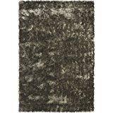 Safavieh Paris Shag Collection SG511-7575 Silver Polyester Area Rug (10' x 14')