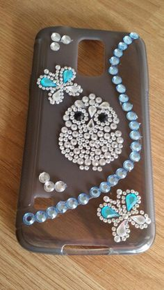 Decorated phone cover.