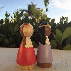 2 Princesses walking in the sunset. Part of a 4 doll set. 2 princesses and 2 knights. $46