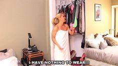 Por que não temos o que vestir?