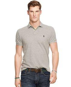 8b98d29ae Polo Ralph Lauren Custom-Fit Mesh Polo Shirt Men s Wardrobe