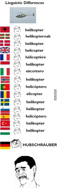 Linguistic differences – helicopter I don't know why this made me laugh as hard as it did haha