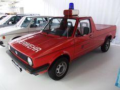 Alle Größen   VW Golf I Caddy Feuerwehr 1991   Flickr - Fotosharing!