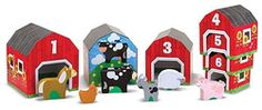 Melissa & Doug Nesting & Sorting Barns & Animals $26.99 - from Well.ca
