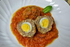 Albóndigas Rellenas con Huevo de Codorniz en Salsa   WikiChef
