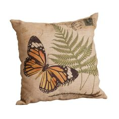 Your Heart's Delight Square Butterfly and Fern Postcard Pillow, 14-1/2-Inch Your Heart's Delight http://www.amazon.com/dp/B00IY9OAY6/ref=cm_sw_r_pi_dp_QT.lub0DWT228