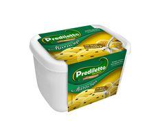 Prediletto Sorvetes - Embalagem Cinta para Potes 2 Litros sabor Mousse de Maracujá
