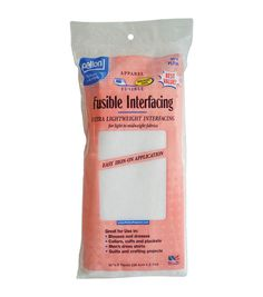 """Fusible Ultra Lightweight Interfacing-White Set Of Online Craft Store, Craft Stores, Fusible Interfacing, Shirt Quilt, Joann Fabrics, Craft Materials, Sewing Hacks, Sewing Tips, Scrapbook Supplies"