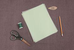 Vellum Paper Leaf Garland DIY / Ruche Blog