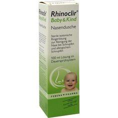 RHINOCLIR Baby & Kind Nasendusche Lösung:   Packungsinhalt: 100 ml Lösung PZN: 08759569 Hersteller: Febena Pharma GmbH Preis: 8,88 EUR…