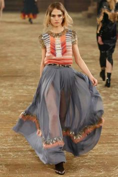 Chanel, beautiful flow, amazing colours.