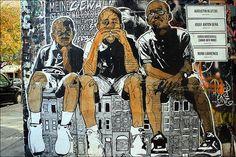 Streetart Berlin 2012 Artist: NETHER