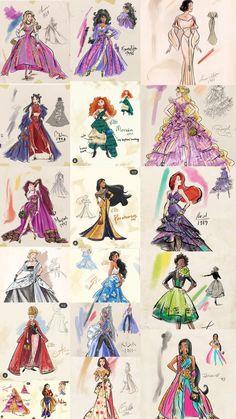 Cute Disney Drawings, Disney Princess Drawings, Disney Princess Art, Disney Princess Pictures, All Disney Princesses, Disney Girls, Disney Artwork, Disney Fan Art, Disney Princess Fashion
