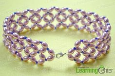 FREE: How to Make Your Own Large Pearl Choker Necklace with Seed Beads