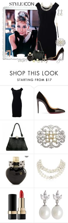 """Style Icon"" by dgia ❤ liked on Polyvore featuring Dolce&Gabbana, Christian Louboutin, Mario Buccellati, Aéropostale and Napier"