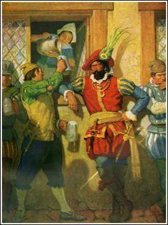 N. C. Wyeth, painter, artist, illustrator | Inspirations