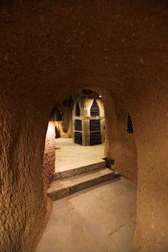 That's a wine cellar.