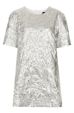 Topshop 'The Collection Starring Kate Bosworth' Metallic Dress available at #Nordstrom