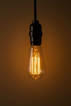 Thomas Edison would feel at home in their warm glow. These bulbs fit  standard sockets  Edison BulbsString LightsPendant ...