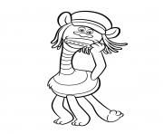 Print Smallest Troll Smidge coloring pages - www.coloring-pages.info