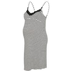 Maternity Nursing Striped Nightdress | Women | George