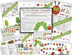 The Very Hungry Caterpillar Companion ~ 21 pages of activities to accompany the classic book!