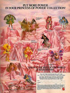 She-Ra doll chart