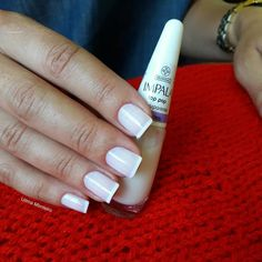 Dicas para fazer unhas francesinhas perfeitas Nails, Manicures, Nail Polish, Nail Art, Amanda, Beauty, Minnie Mouse, Natural, Light Nails
