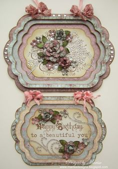 Designs by Marisa: Heartfelt Creations Wednesday - Wall Hanging