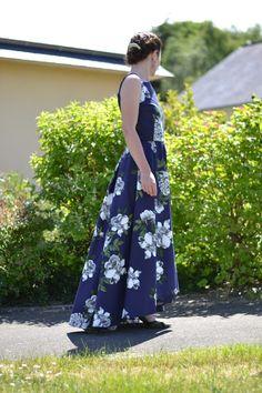 Maxi Flora Dress |pauline alice - Sewing patterns, tutorials, handmade clothing & inspiration
