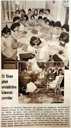 OĞUZ TOPOĞLU : nişantası kız enstitüsü öğrencileri 1962 hayat der...