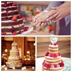 Naked Cake é tendência!!