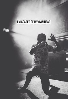 Be Concerned - Twenty One Pilots . Working on perfecting this rap.