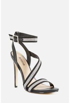 4ea5fc5a35298 Chiara Heeled Sandal in Black - Get great deals at JustFab Great Deals