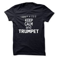 Trumpet shirt 2015 - Whether its belting out a fanfare or playing soulful jazz, the trumpet is a vital part of any brass section. This design shows a single, polished trumpet in all its glory.