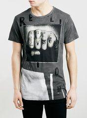 Religion Black Print T-Shirt*