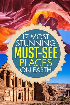 17 Most Stunning Travel Destinations: Oh wow, some of these photos are really insane! I love the Antelope Canyon, what an amazing place to visit. I showed them to my husband and said we have to go at least ONE of these places :)