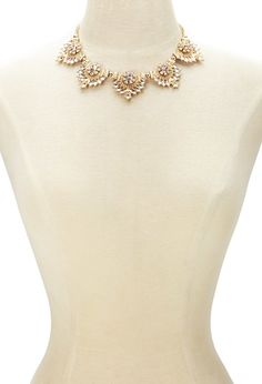 Forever 21 | Gold Statement Necklace