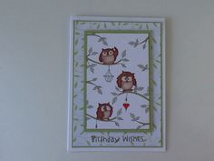 Handmade by Julie Kenny. Hobby art stamps