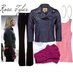 """This """"Companion Clothing"""" tumblr has some great ideas for interpretive cosplay for DW. Example: Rose Tyler from """"Journey's End"""" here..."""