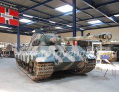 PzKpfw VI Tiger II Königstiger. Musée des Blindés, Saumur, Francia. Foto: © Rojo y Gualda, Información y Análisis, 2013. Haga clic sobre la imagen para ampliarla.