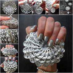 Crochet Pull Tab Flower Purse Free Pattern